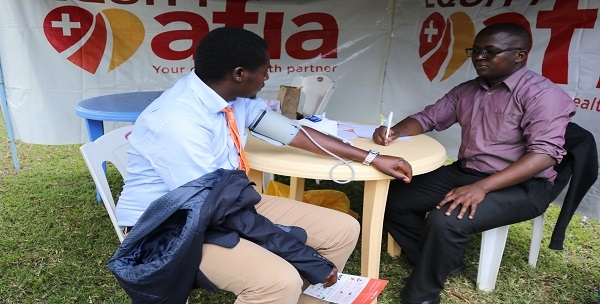 Free healthcare/medical checkup held for the staff at CEMASTEA