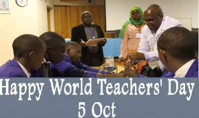 Happy World Teachers Day 5th October